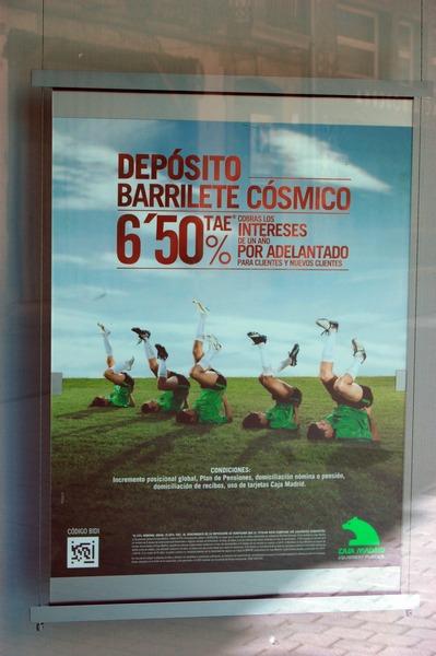 Depósito Barrilete Cósmico, Caja Madrid