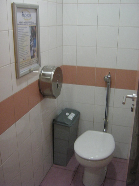 Localicación WC público