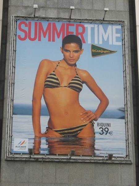 Summer Time, Corte Inglés