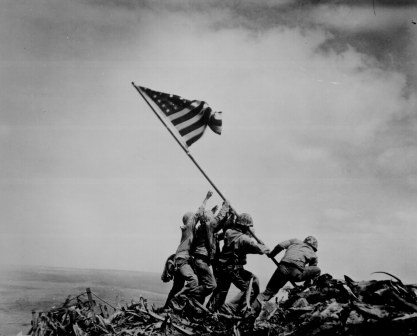 Joe Rosenthal, Iwo Jima flag raising