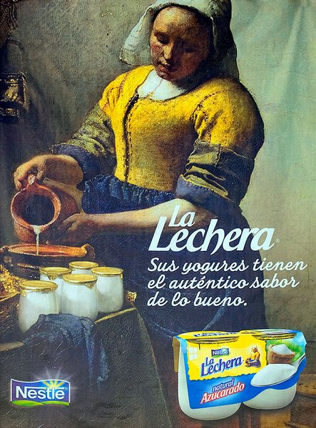 Publicarte la lechera antes de vermeer y ahora de nestl - La lechera de vermeer ...